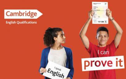 Modelo Integrado de adoção dos exames Cambridge English
